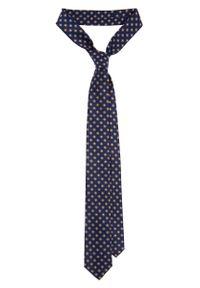 Krawat Lancerto w geometryczne wzory, klasyczny