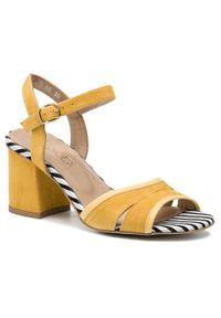 Żółte sandały Ann Mex