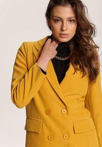 Żółta marynarka Renee