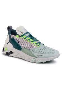 Zielone buty sportowe Nike z cholewką, na co dzień