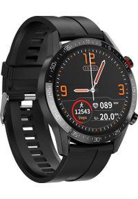 Smartwatch Promis SM40 Czarny (SM40/4-L13). Rodzaj zegarka: smartwatch. Kolor: czarny
