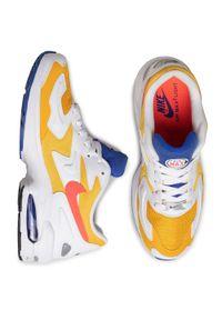 Półbuty Nike casualowe, z cholewką