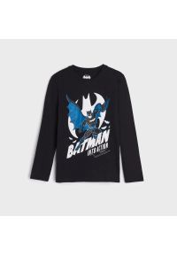 Sinsay - Koszulka Batman - Czarny. Kolor: czarny. Wzór: motyw z bajki