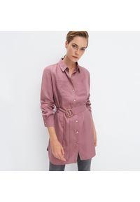 Fioletowa koszula Mohito