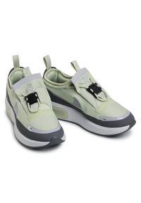 Zielone buty sportowe Nike Nike Air Max, na co dzień, z cholewką