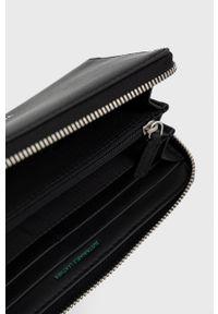 Tommy Jeans - Portfel. Kolor: czarny. Materiał: włókno, materiał. Wzór: gładki