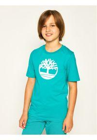 Zielony t-shirt Timberland