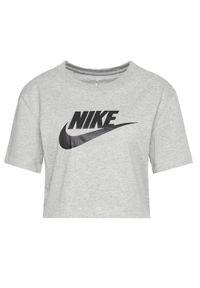 Nike T-Shirt Essential BV6175 Szary Loose Fit. Kolor: szary