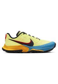 Buty męskie do biegania Nike Terra Kiger 7 CW6062. Materiał: tkanina, syntetyk, włókno, skóra, guma. Szerokość cholewki: normalna. Wzór: gładki. Model: Nike Zoom. Sport: bieganie, koszykówka