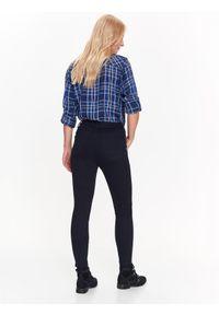 Niebieskie spodnie TOP SECRET z podwyższonym stanem, casualowe