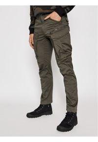 G-Star RAW - G-Star Raw Spodnie materiałowe Rovic D02190 5126 1260 Szary Regular Fit. Kolor: szary. Materiał: materiał