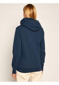 Superdry Bluza Script Sequin Panel W2010438A Granatowy Regular Fit. Kolor: niebieski
