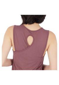 Koszulka treningowa damska Energetics Galu 302530. Materiał: tkanina, materiał. Długość rękawa: bez rękawów. Sport: fitness