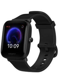 AMAZFIT - Amazfit Bip U Pro, Black. Rodzaj zegarka: smartwatch. Kolor: czarny. Styl: sportowy