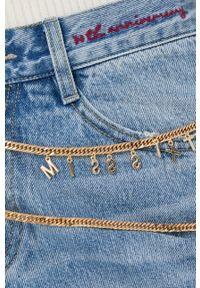 Miss Sixty - Jeansy bawełniane Special. Stan: podwyższony. Kolor: niebieski