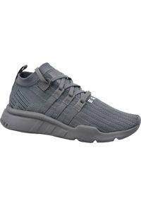 Szare sneakersy Adidas z cholewką