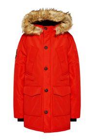 Superdry Kurtka zimowa Everest M5010204A Czerwony Regular Fit. Kolor: czerwony. Sezon: zima #5
