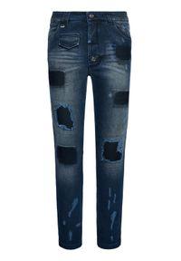 Niebieskie jeansy Rage Age