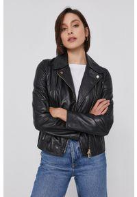 Pennyblack - Ramoneska skórzana. Okazja: na co dzień. Kolor: czarny. Materiał: skóra. Styl: klasyczny, casual