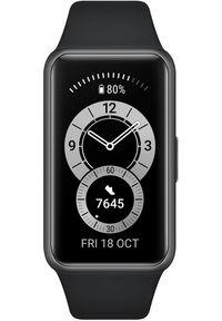 HUAWEI - Huawei bransoletka fitness Band 6, Graphite Black. Kolor: czarny. Styl: sportowy