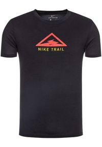 Czarna koszulka sportowa Nike do biegania, Dri-Fit (Nike)