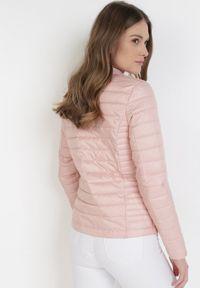 Różowa kurtka przejściowa Born2be #6
