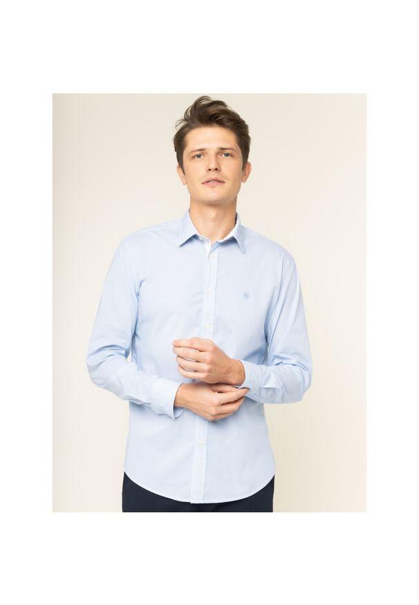 Niebieska koszula Marc O'Polo polo