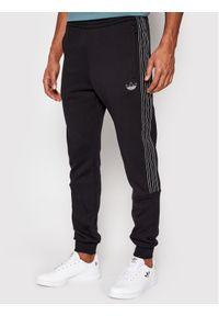 Czarne spodnie dresowe Adidas