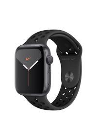 Czarny zegarek APPLE sportowy