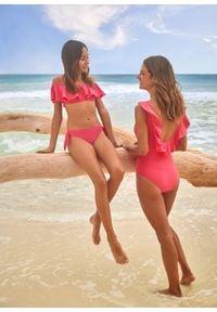 Bikini dziewczęce (2 części) bonprix różowy. Kolor: różowy #3