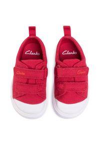 Clarks Trampki City Bright T 261490927 Czerwony. Kolor: czerwony