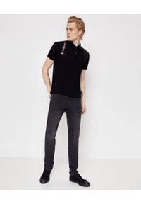 Alexander McQueen - ALEXANDER MCQUEEN - Szare jeansy. Kolor: szary. Wzór: haft. Sezon: lato