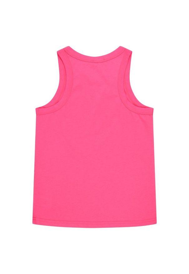 Różowy top DKNY