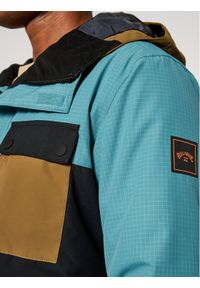 Niebieska kurtka sportowa Billabong narciarska