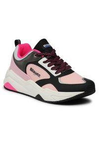 Różowe buty sportowe Blauer