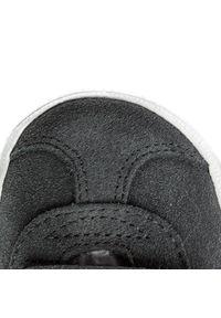 Adidas - Buty adidas - Gazelle Cf I CQ3140 Dgsogr/Ftwwht/Ftwwht. Okazja: na uczelnię, na spacer, na co dzień. Zapięcie: rzepy. Kolor: szary. Materiał: skóra, skóra ekologiczna, zamsz. Szerokość cholewki: normalna. Styl: casual