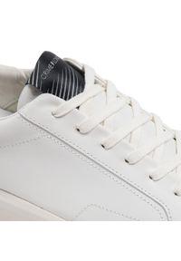 Crime London - Sneakersy CRIME LONDON - Low Top Level Up 11200PP3.10 Biały. Okazja: na co dzień. Kolor: biały. Materiał: skóra. Styl: elegancki, sportowy, casual