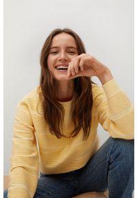 mango - Mango - Sweter Redding. Kolor: żółty