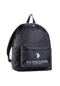 U.S. Polo Assn - Plecak U.S. POLO ASSN. - New Bump Backpack Bag BIUNB4855MIA/005 Black/Black. Kolor: czarny. Materiał: materiał