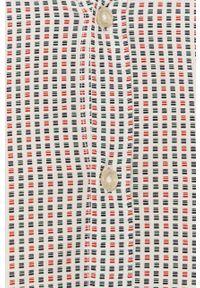Biała koszula Tom Tailor z długim rękawem, długa