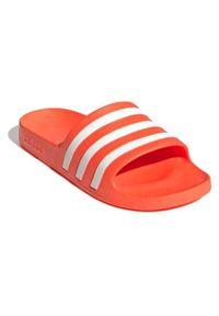 Klapki damskie basenowe Adidas Adilette Aqua FY8096. Wzór: aplikacja. Styl: klasyczny