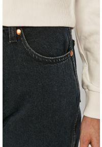 Niebieskie jeansy Wrangler casualowe, z podwyższonym stanem, na co dzień