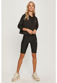 Czarna bluza adidas Originals z aplikacjami, z kapturem