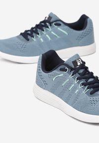 Renee - Niebieskie Buty Sportowe Everybody Run!. Okazja: na co dzień. Kolor: niebieski. Materiał: materiał. Sport: bieganie