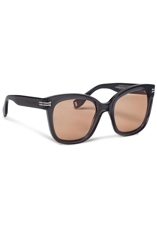 Okulary przeciwsłoneczne MARC JACOBS - 1012/S Grey KB7. Kolor: brązowy, wielokolorowy, szary