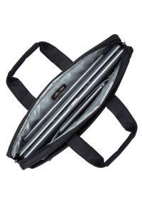 Czarna torba na laptopa RIVACASE elegancka