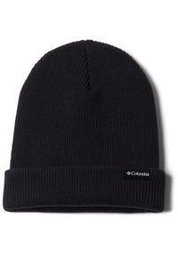 Czarna czapka columbia na zimę