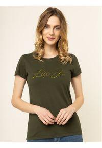 Zielony t-shirt Liu Jo