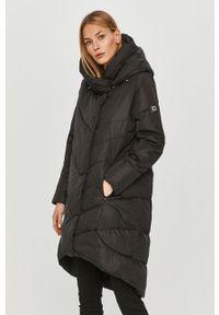 Czarna kurtka z kapturem, na co dzień, casualowa