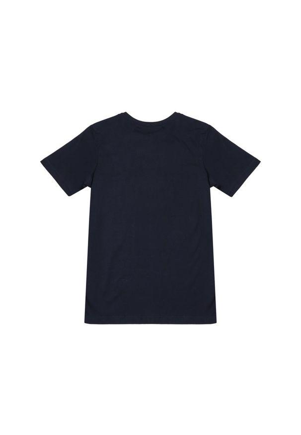 Niebieski t-shirt Quiksilver